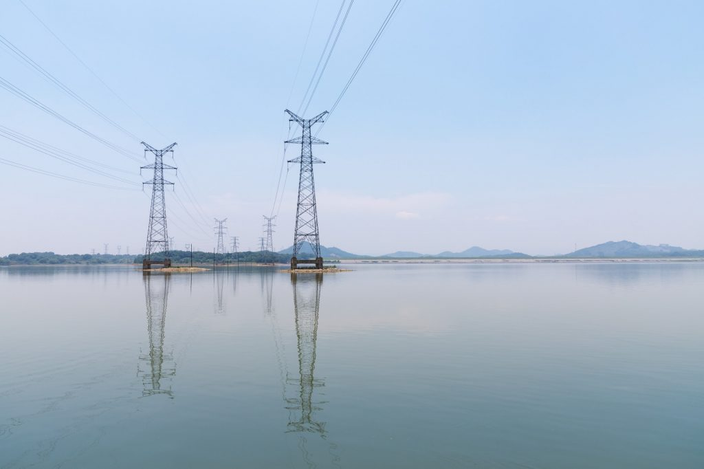 postes de luz no lago artigo sobre segunda via da Coelba