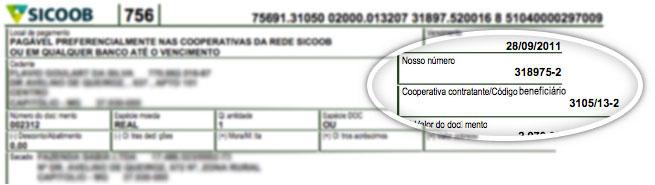 exemplo documento atualizar boleto bancoob 2