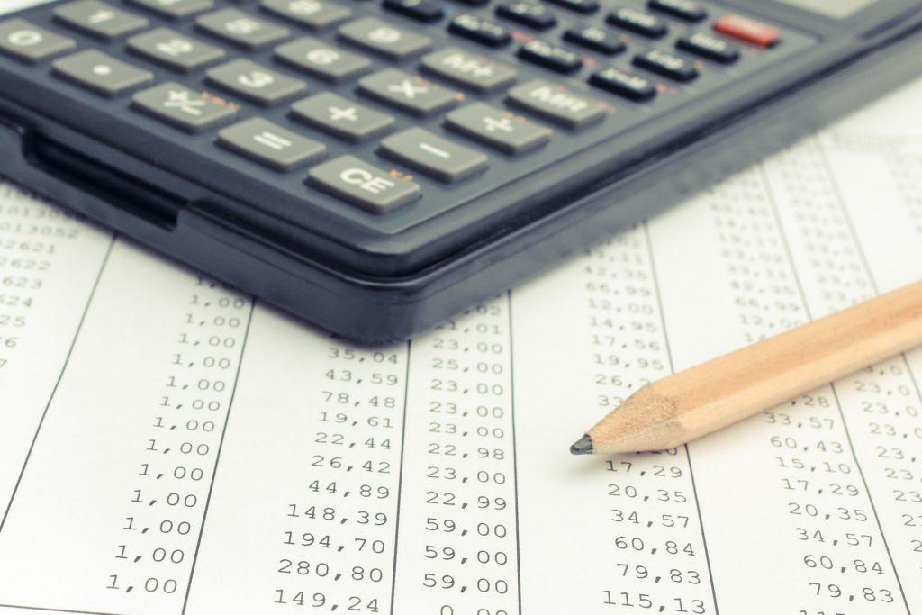 calculadora e folha de calculos para emitir boleto registrado