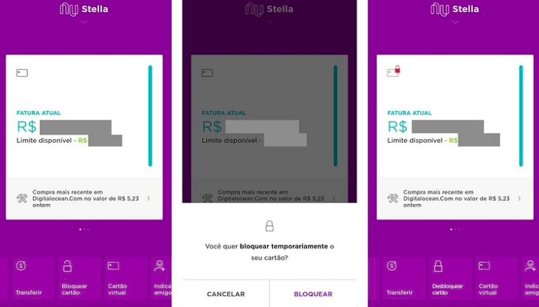 atualizar boleto nubank app